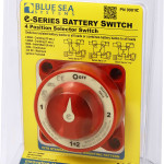 Blue Sea e-Series Selector Battery Switch