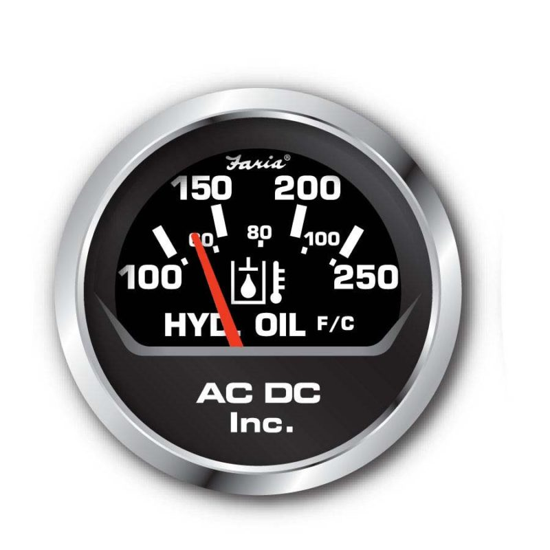 Oil Gauge 250F