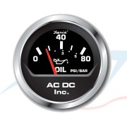 OilPressure 80 PSI Black