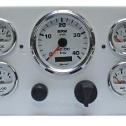 Perkins Engine Instrument Panel