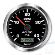 TACHOMETER WITH HOURMETERblack copy