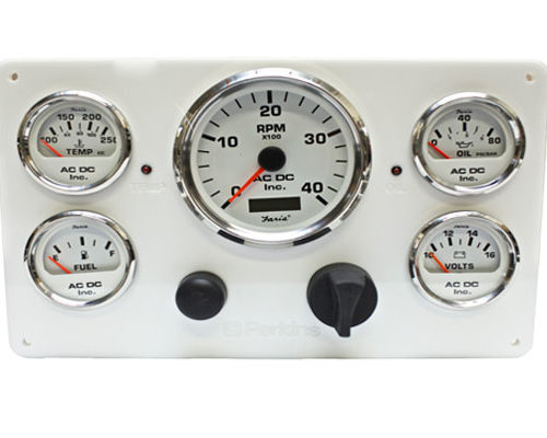 Perkins Engine Instrument Panel