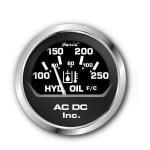 hydraulic oil temperature gauge100-250