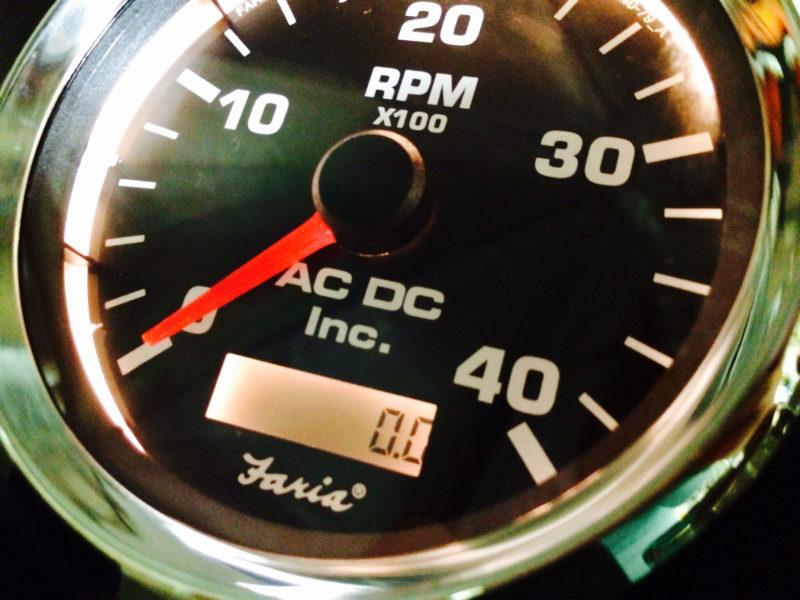 cummins marine engine instrument panel ac dc marine inc tahco gauge led