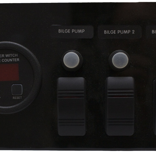 Bilge Pump Panel for 3 Pump system