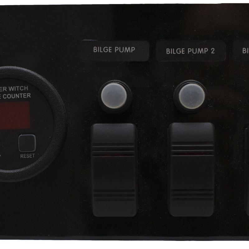 Bilge Pump Panel for 3 Pump system