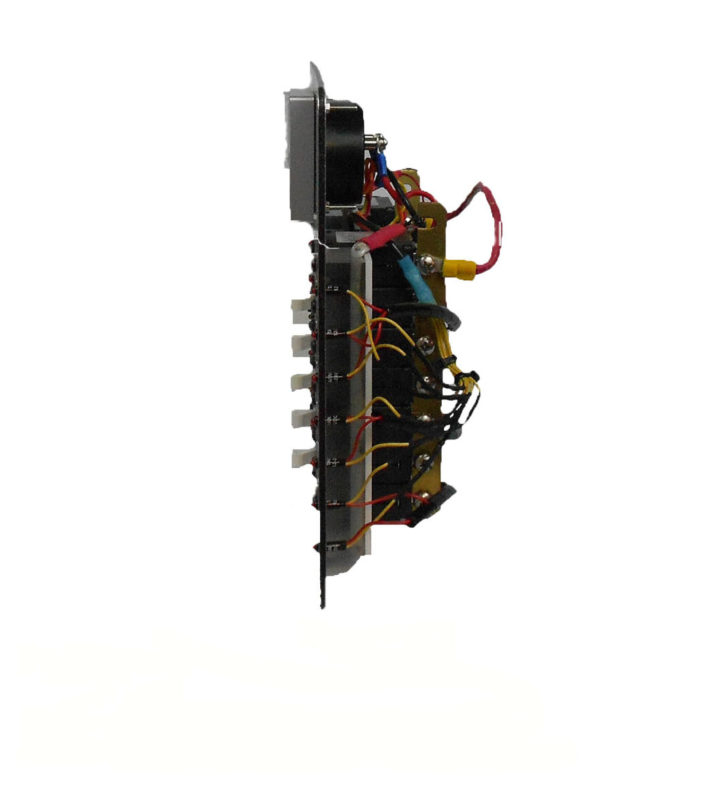 Dc Circuit Breaker Panel  10 Position  U2013 Ac Dc Marine Inc