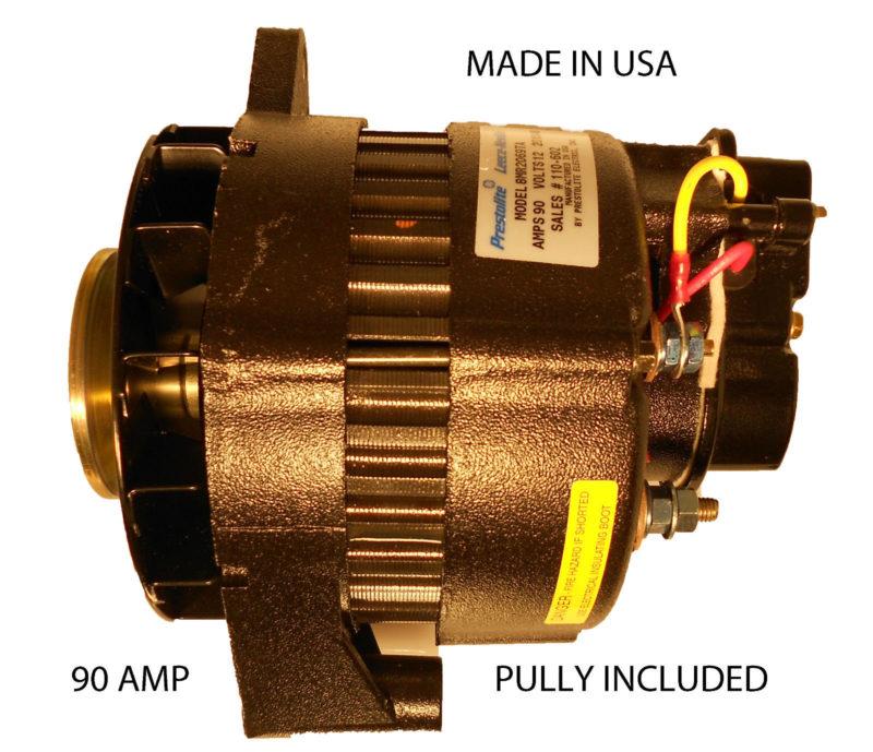 Leece Neville Marine Alternator ndash 90 amp ndash AC DC Marine Inc