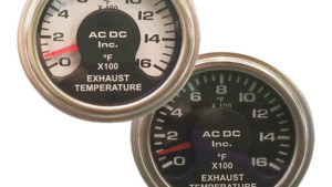 Dual Pyrometer 3-13F EGT Gauge – AC DC Marine Inc