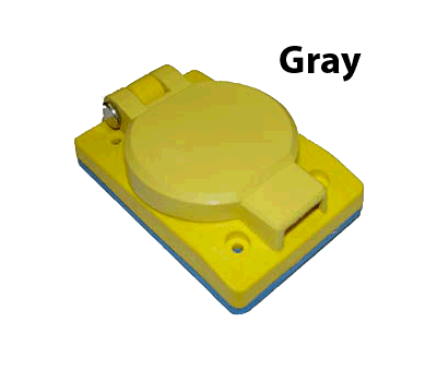 Cover plate for 30 Amp Receptacle