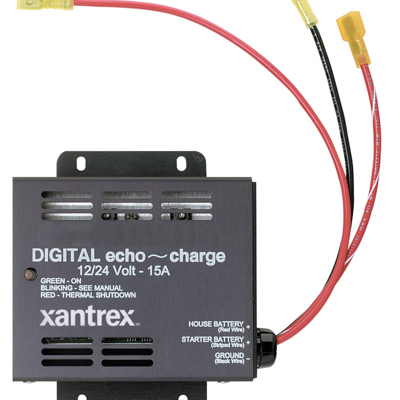 Xantrex Echo Charge Auxiliary Battery Charger ndash AC DC
