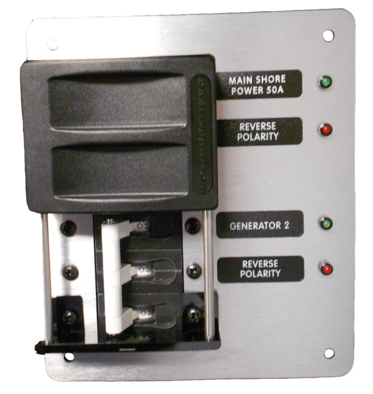 Heavy Duty Ac Main Selection Switch Ac Dc Marine Inc