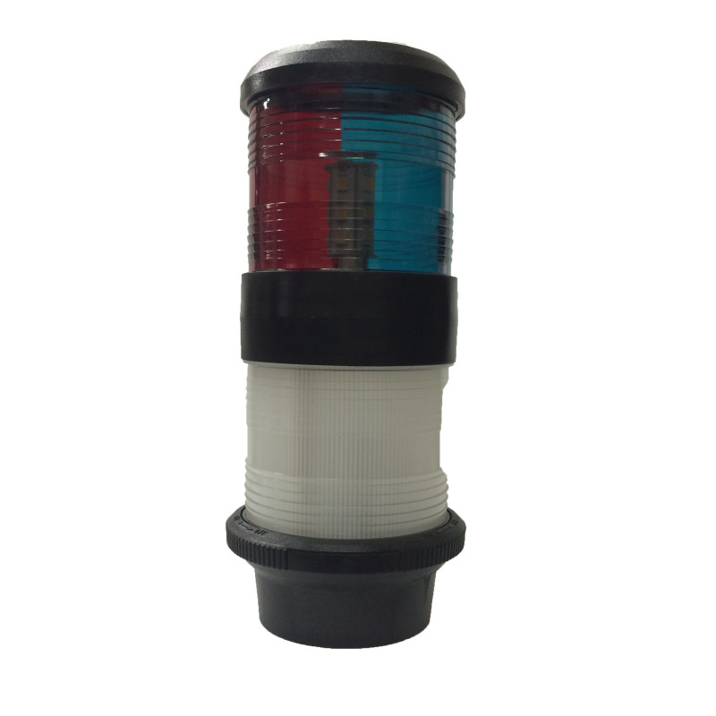 Tri Color Anchor Navigation Light w/ LED Bulbs