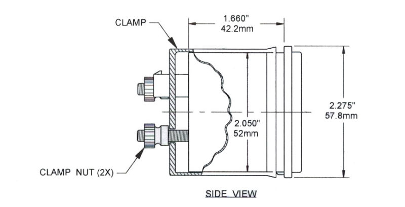 dual pyrometer 3 13f egt gauge ac dc marine inc dual side pyrometer