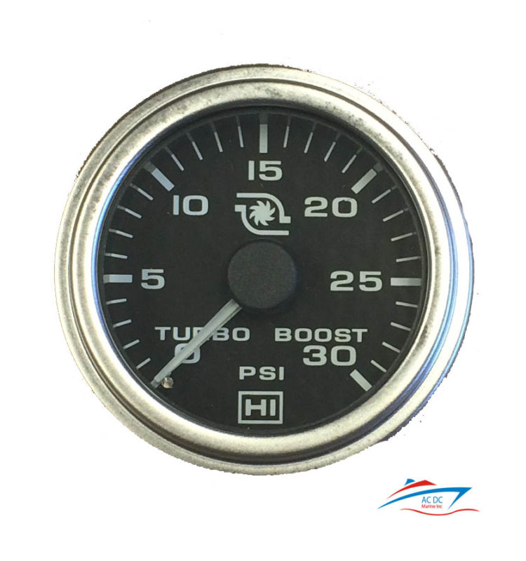 turbo boost pressure gauge 0 30 psi ndash ac dc marine inc wiring a generator through a glass with a furnace fuse wiring a duplex