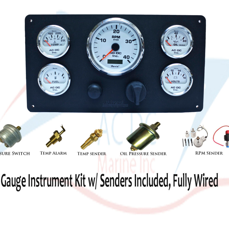 Universal Engines Instrument Panel With Senders  499 99