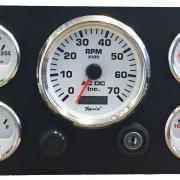 marine engine instrument panel