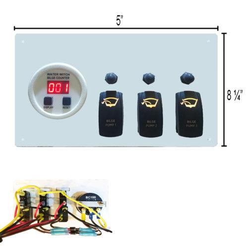 3 pump bilge Panel_2016