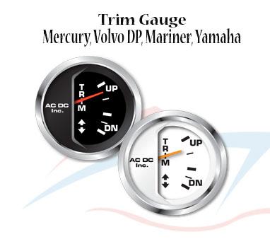 Trim Gauge ndash Mercury Volvo DP Mariner Yamaha ndash AC DC