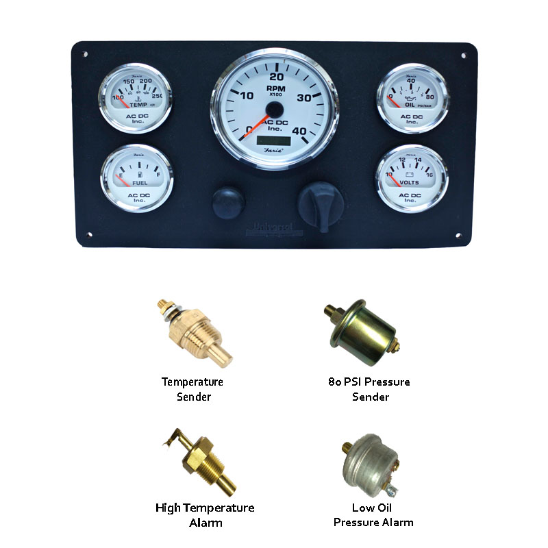 Universal Engines Instrument Panel with senders  49999