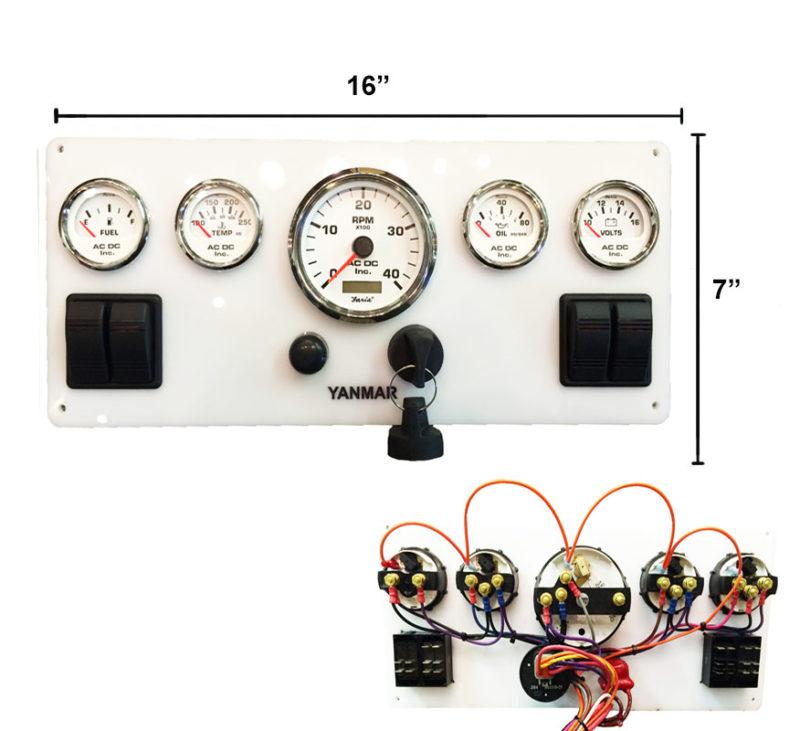 W-YAN-WH-167 Yanmar D Wiring Diagram Headlight Switch on