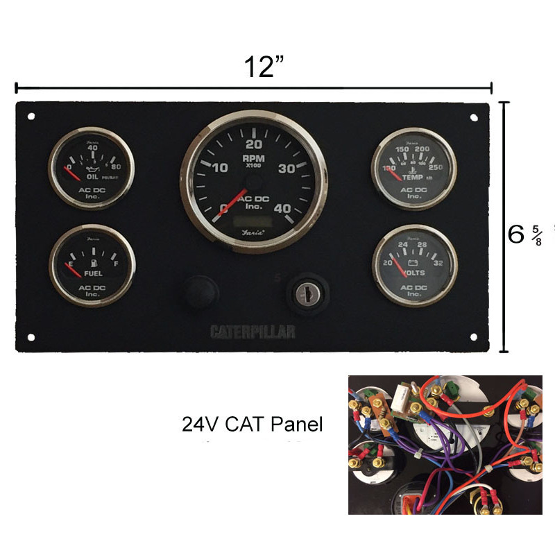 V B Cat Bl X on Boat Instrument Panel Wiring Diagrams