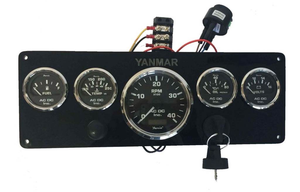 Yanmar Marine Instrument Panel Programmable Or Non