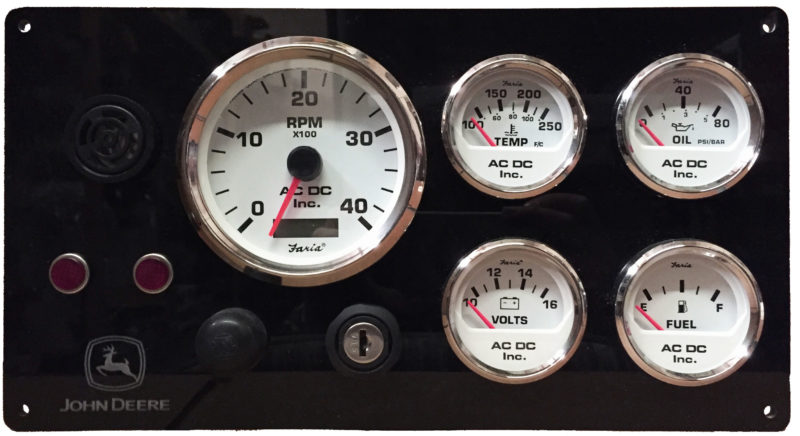 John Deere Diesel Gauge Kit acdcmarineinc com