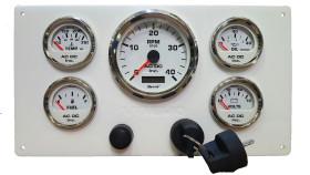 White Volov wwhite gauges126