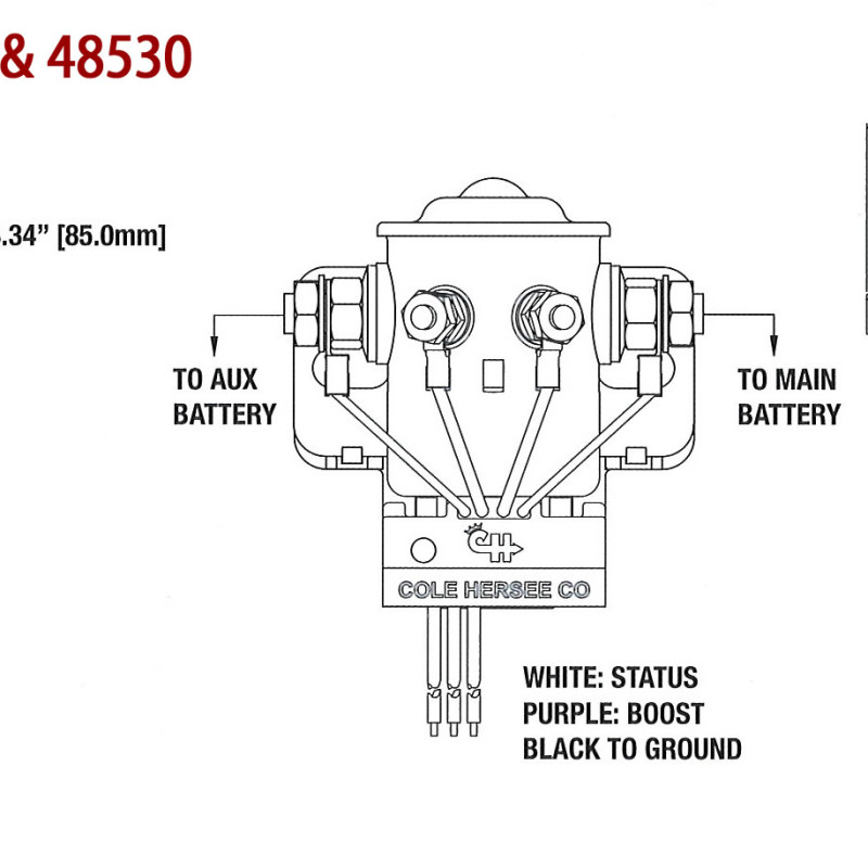 warn battery isolator wiring diagram warn wiring diagrams cars warn battery isolator wiring diagram cole here 200a smart battery isolator 48530 ac dc marine inc