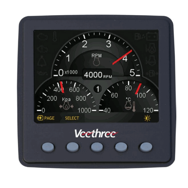 Veethree Nmea 2000 Universal Engine Gateway Monitor Ac