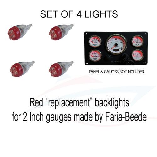 Boat Red Backlights