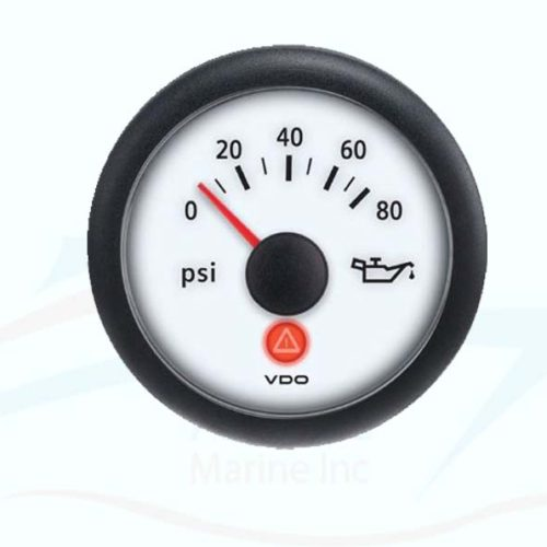 Oil pressure viewline