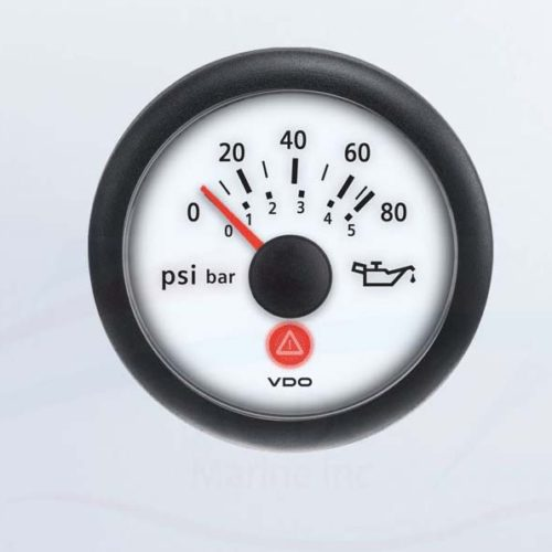 Viewline Oil Pressure Gauge 80 PSI