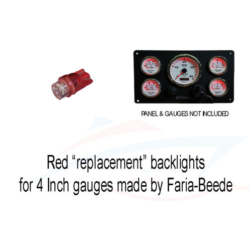 tachometer red backlight