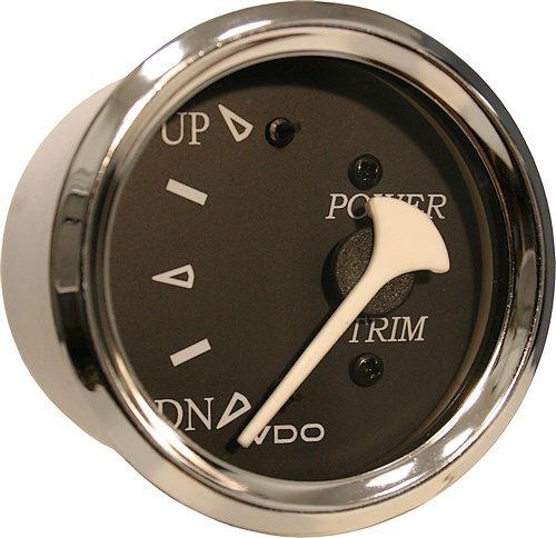 VDO Black trim gauge 382-11275