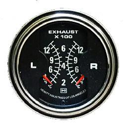Black dual Pyrometer HI