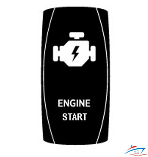Engine Start rocker switch cover