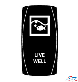 Live Well Rocker Switch cover