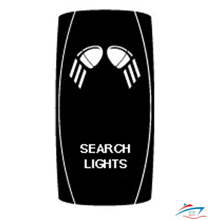 search lights rocker switch cover