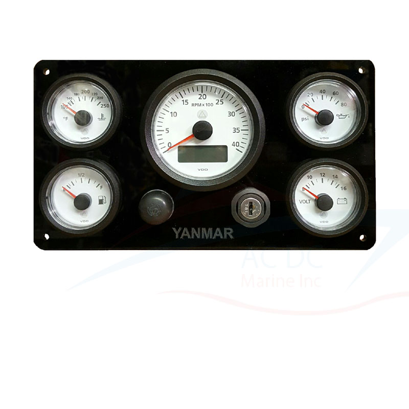 """book vdo gauge analog water temperature wiring diagram pdf be the first to review """"vdo viewline series gauge set for yanmar"""