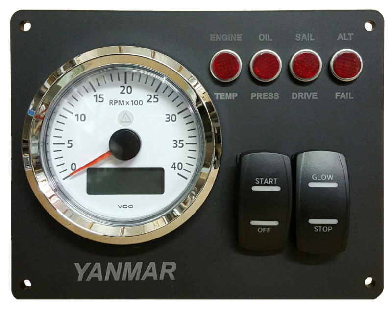 marine ac generator wiring yanmar engine panel    ac    dc    marine    inc  yanmar engine panel    ac    dc    marine    inc