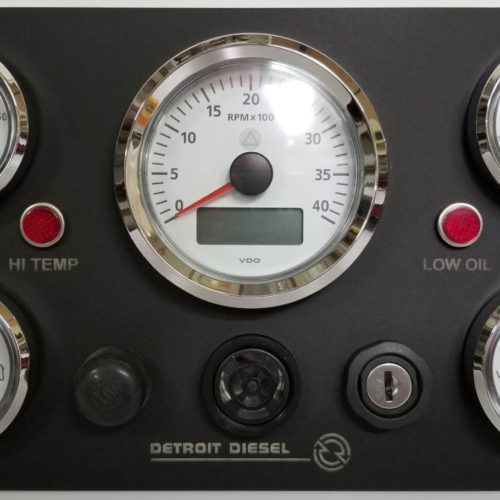 VDO Gauges for Detroit Diesel Engine