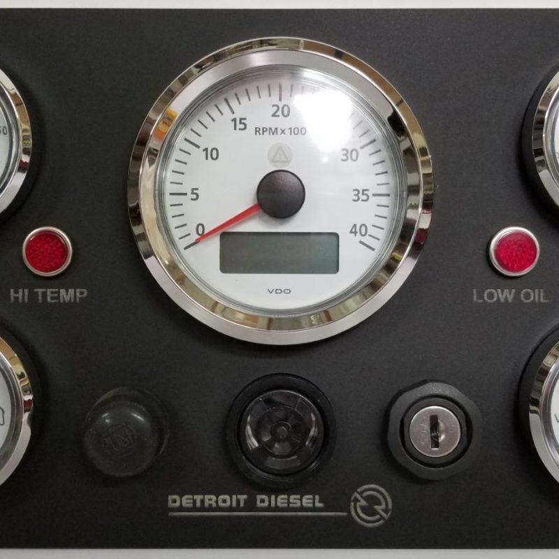 VDO Gauges for Detroit Diesel Engine