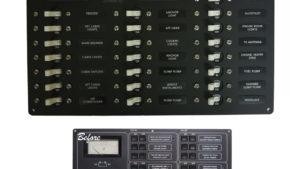 AC Circuit Breaker Panel 14-Position Vertical – BLUE SEA