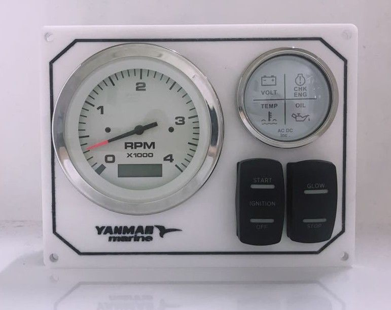 Yanmar B-Type Panel – Replacement Keyless Engine Instrument Panel for  Diesel Engines