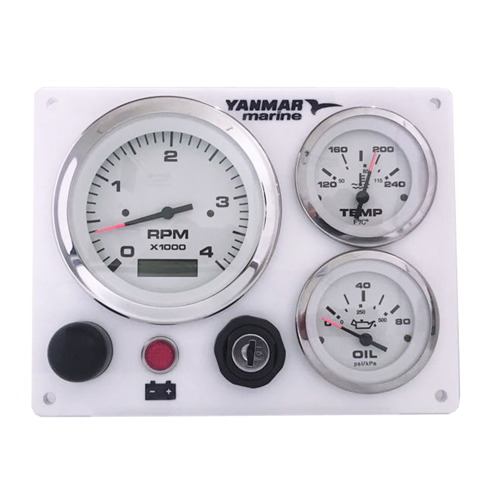 Yanmar Diesel Engine Marine instrument Panel B type USA Made Magnetic Pick  Up