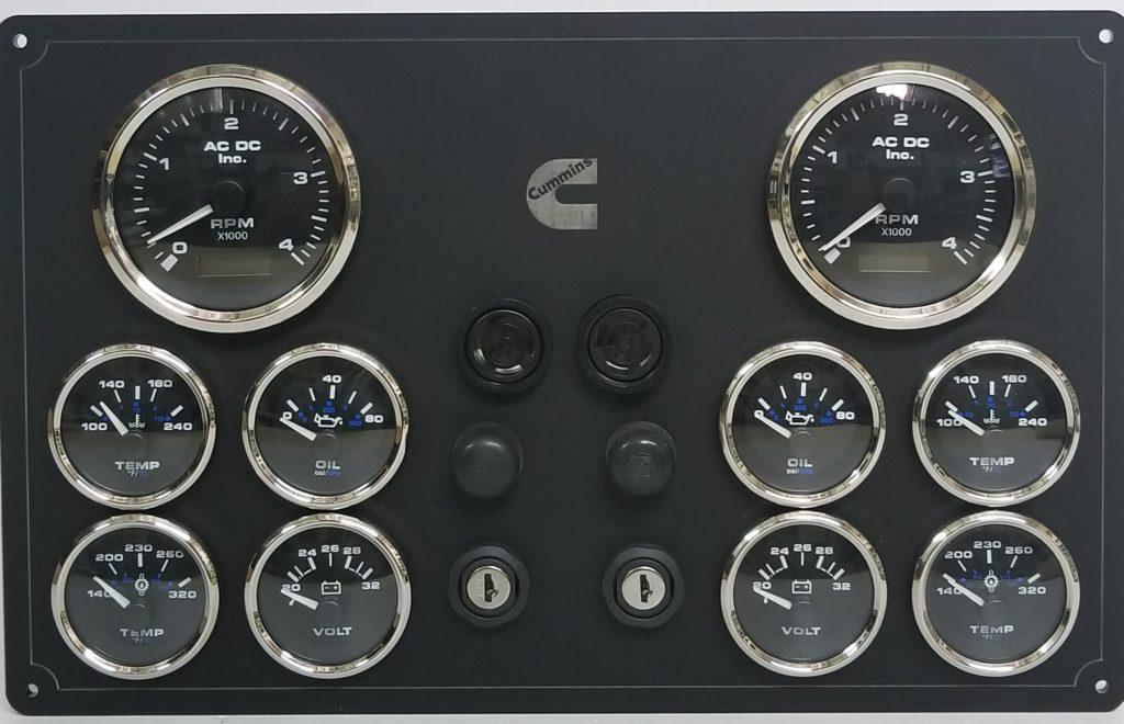 Marine Engine Panel Creator (custom made panels) – AC DC
