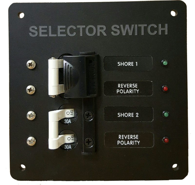 *30A Marine Source Selector Circuit breaker Panel compare to Blue Sea  8061/8032
