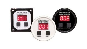 water witch digital bilge counter